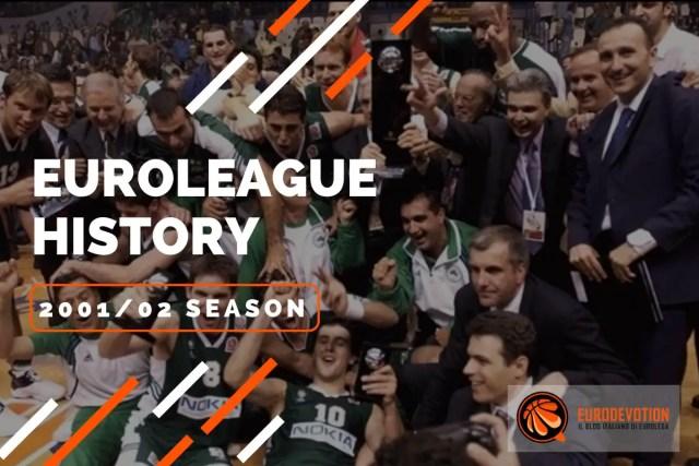 Euroleague Story 2001/02: il Panathinaikos spegne il sogno di bis della Virtus