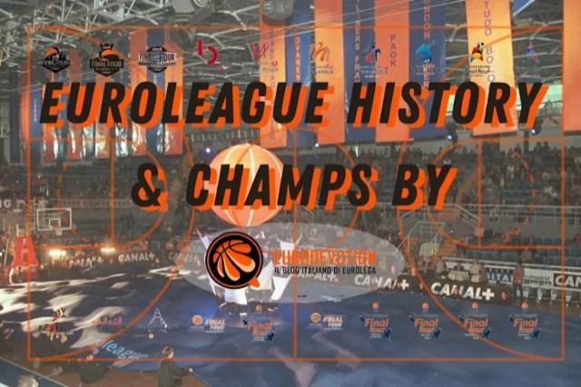 Eurolega, tutta la storia delle stagioni e dei campioni dal 2000 ad oggi nel racconto di Eurodevotion