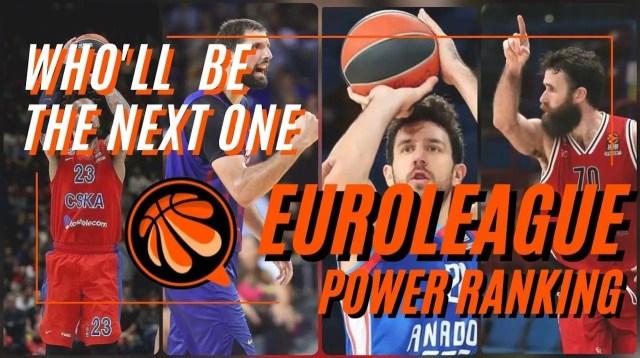 Euroleague Power Ranking