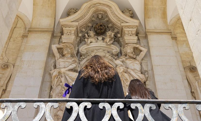 estudantes em Coimbra