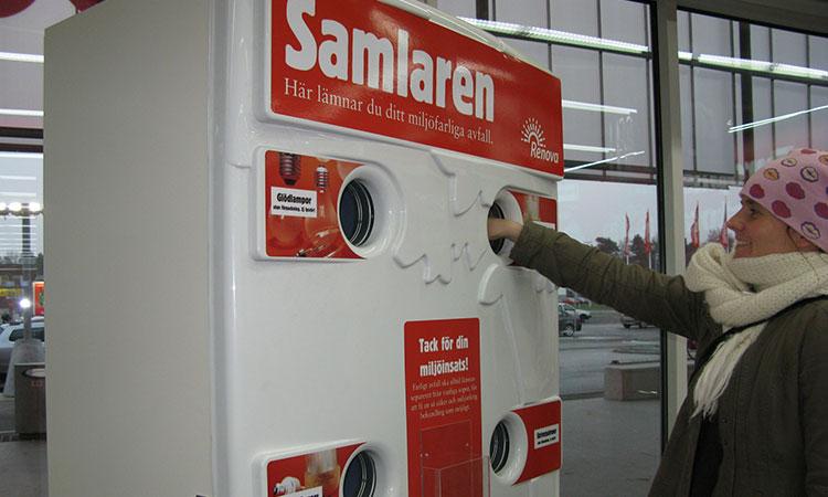 Reciclagem na Suécia