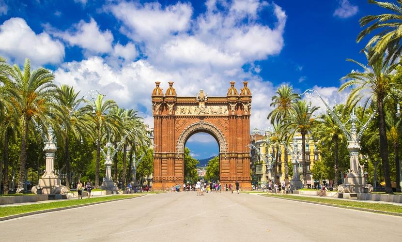 Arco de Triomf em Barcelona