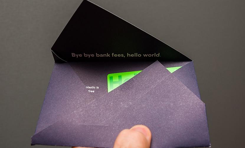 Conta Borderless da TransferWise cartão