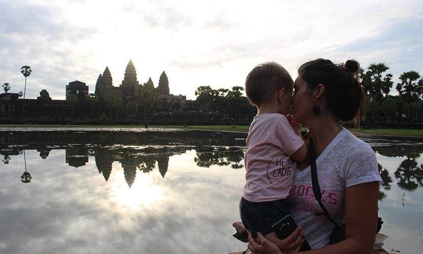 Andrea e Luca Cambodia