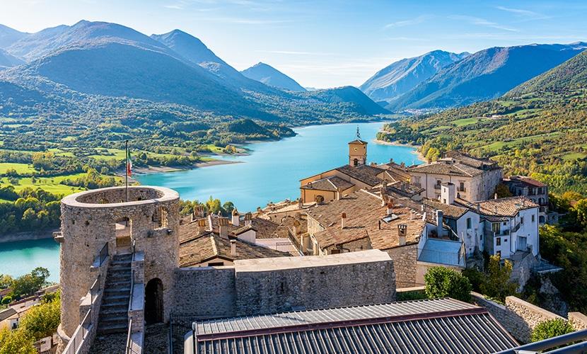 Áquila na Itália