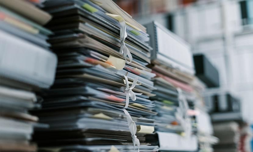 assessoria para encontrar documentos