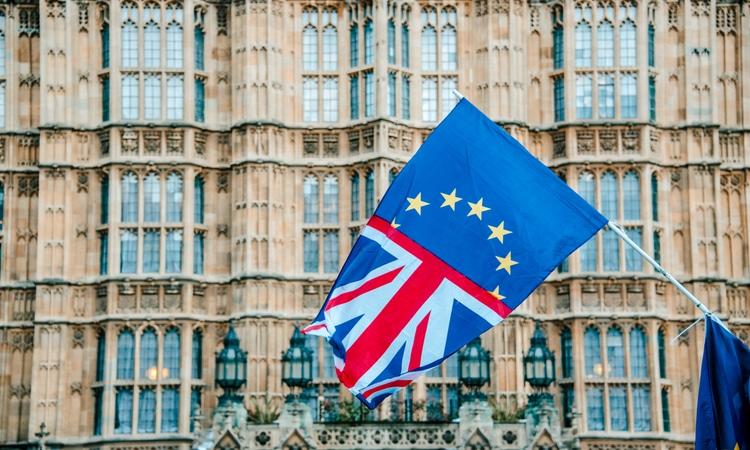 Bandeiras no Parlamento