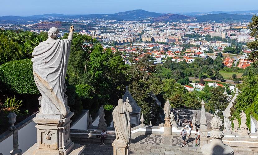 Braga destino de brasileiros em Portugal