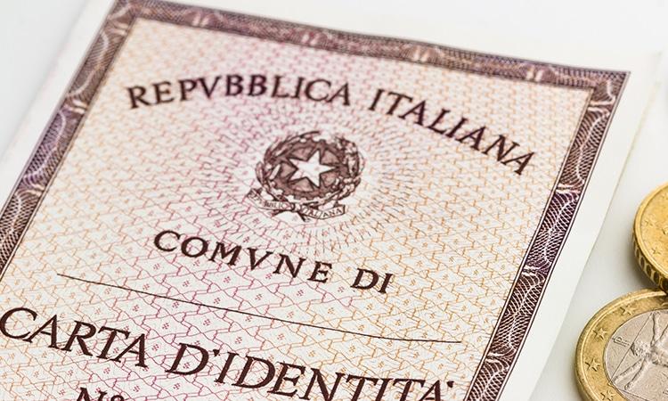 carteira de identidade italiana