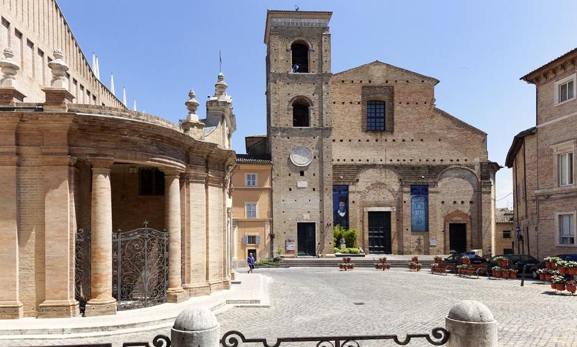 Cidades pequenas na Itália Macerata