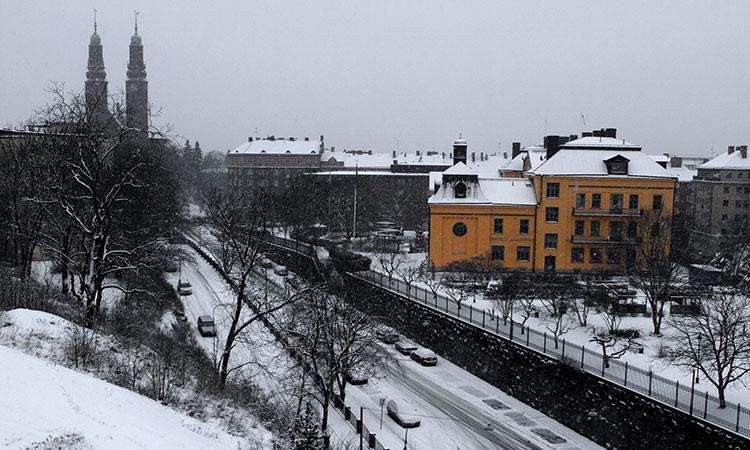 Clima em Estocolmo
