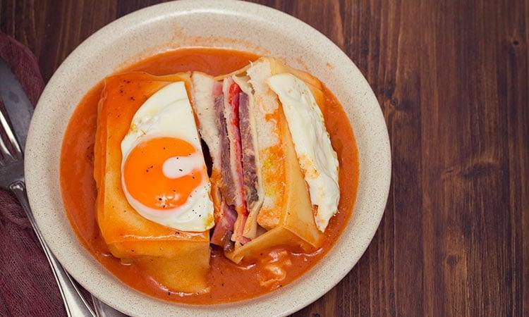 comidas tipicas de portugal francesinha