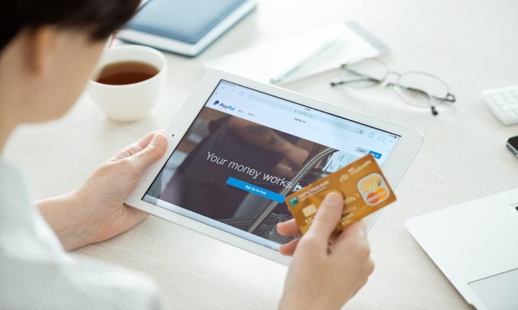 conta digital no paypal