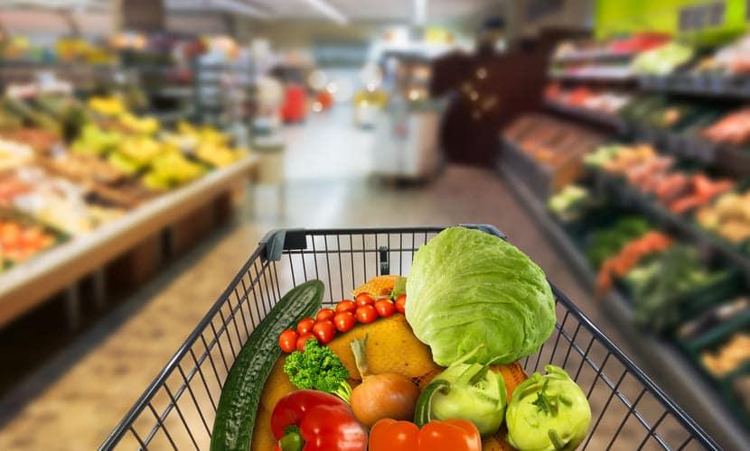 custo de vida alimentação