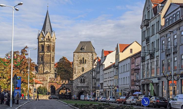 Cidade de Eisenach na cultura da Alemanha