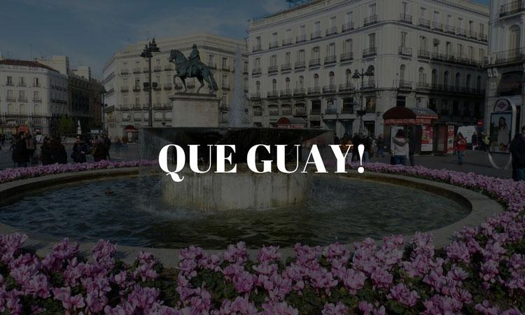 Guay em Espanhol