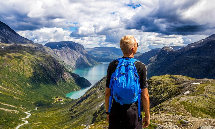 intercambio na noruega montanhas