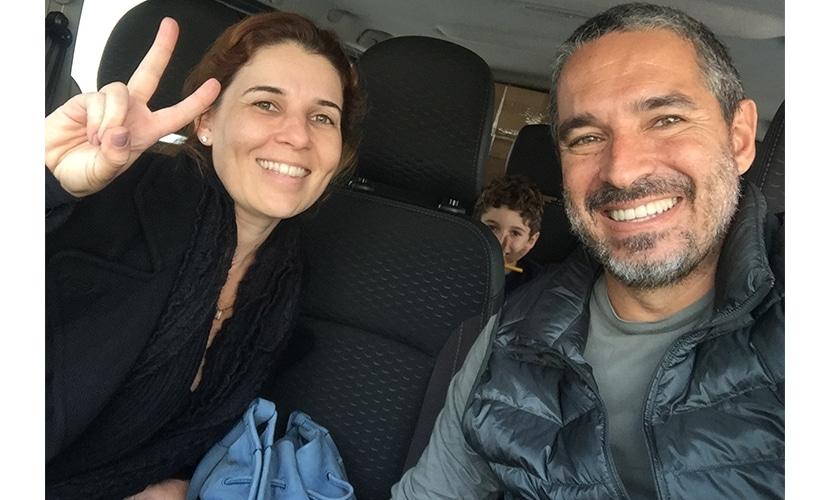 Marcos Freire e família