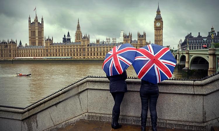 O clima na Inglaterra