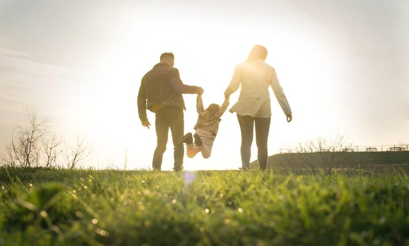 Morar no exterior com a família