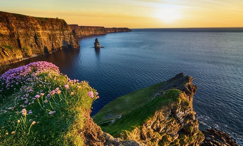 Passagem para Irlanda época