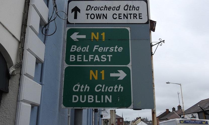 placas na Irlanda