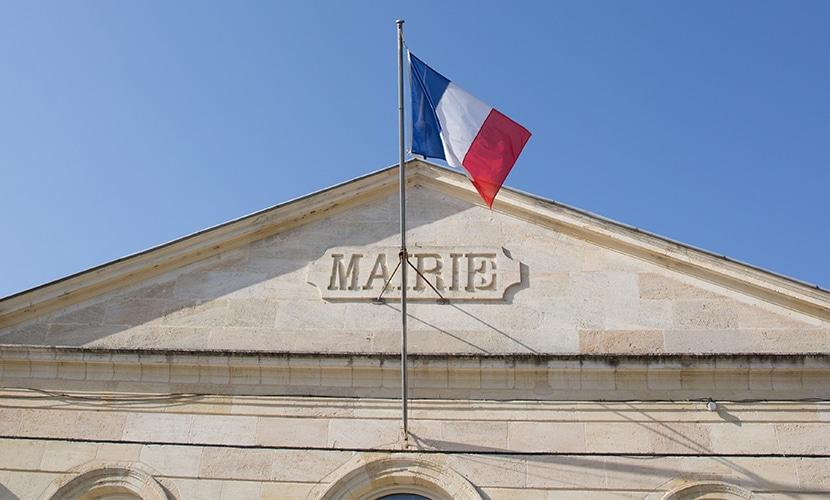 Prefeitura na França