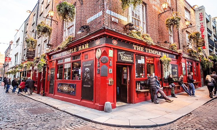 Pub na Irlanda