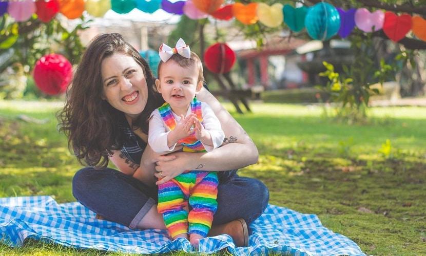 Ser mãe em Portugal bebê