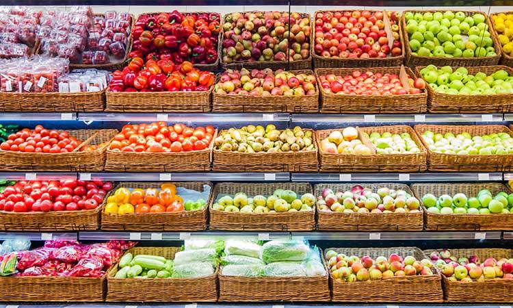 supermercados em portugal frutas
