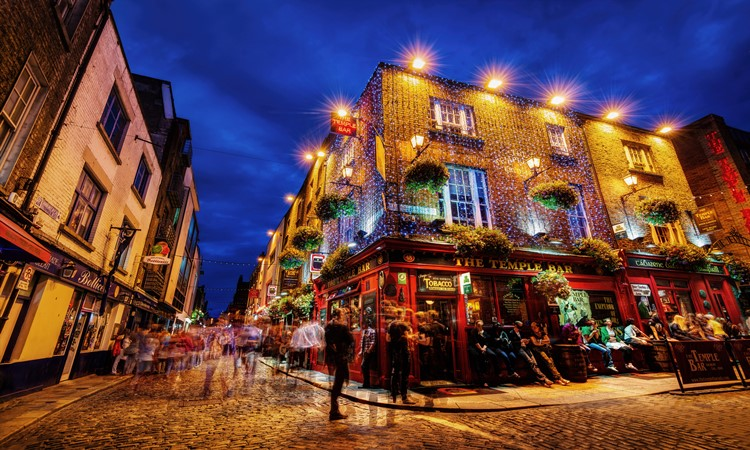 the temple bar Irlanda