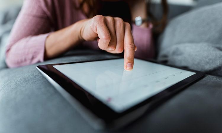 vantagens da TransferWise pelo tablet