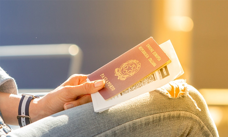 viajar com passaporte italiano