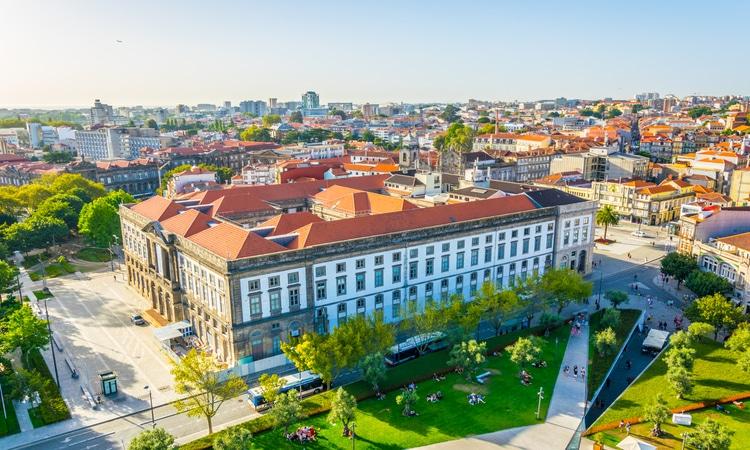 Vista da Universidade do Porto