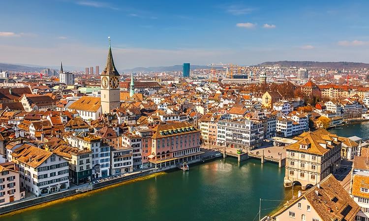 Zurique é uma das cidades mais caras da Europa