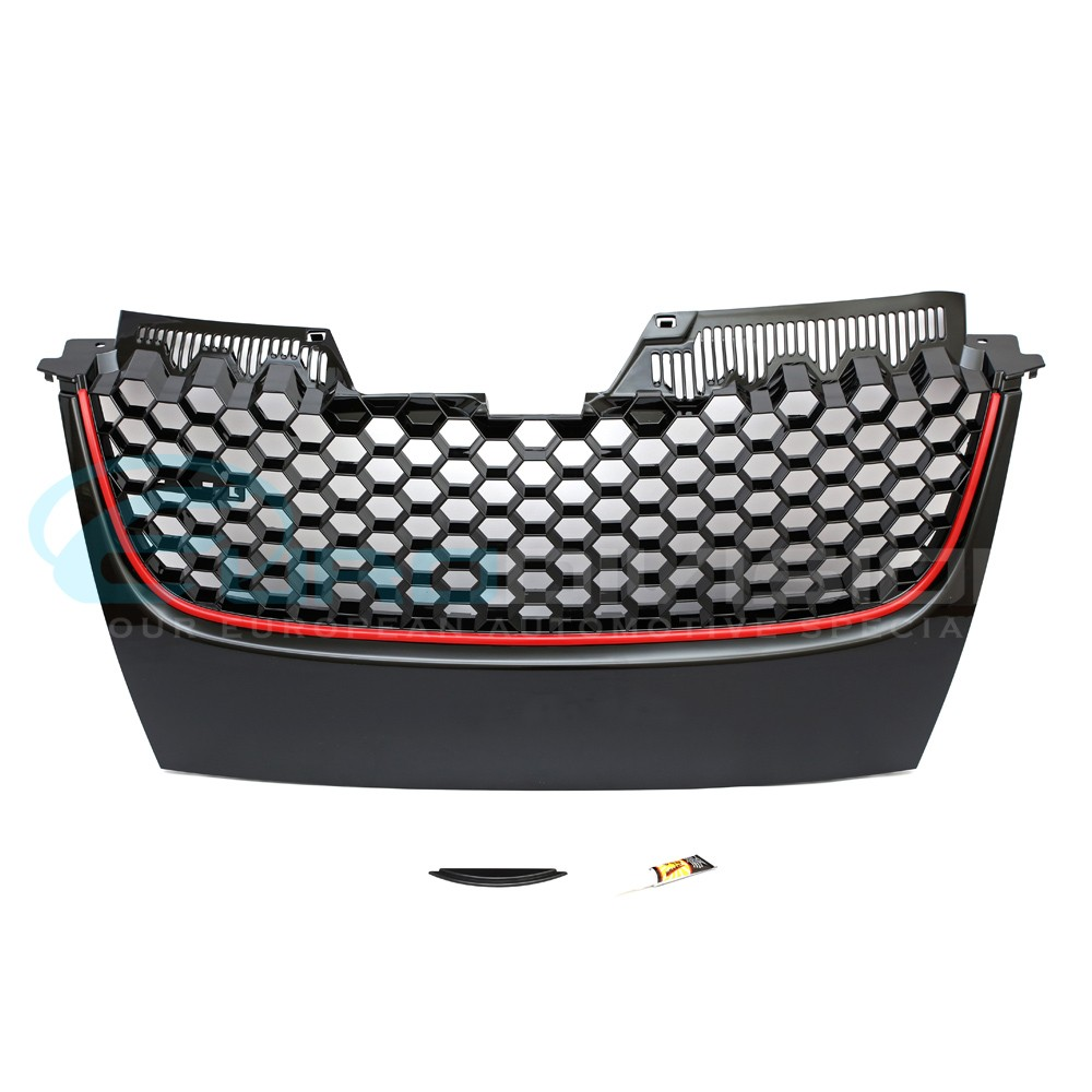 Volkswagen Golf MK5 GTI  Badgeless Front Grille  Complete Replacement Euro Division Your