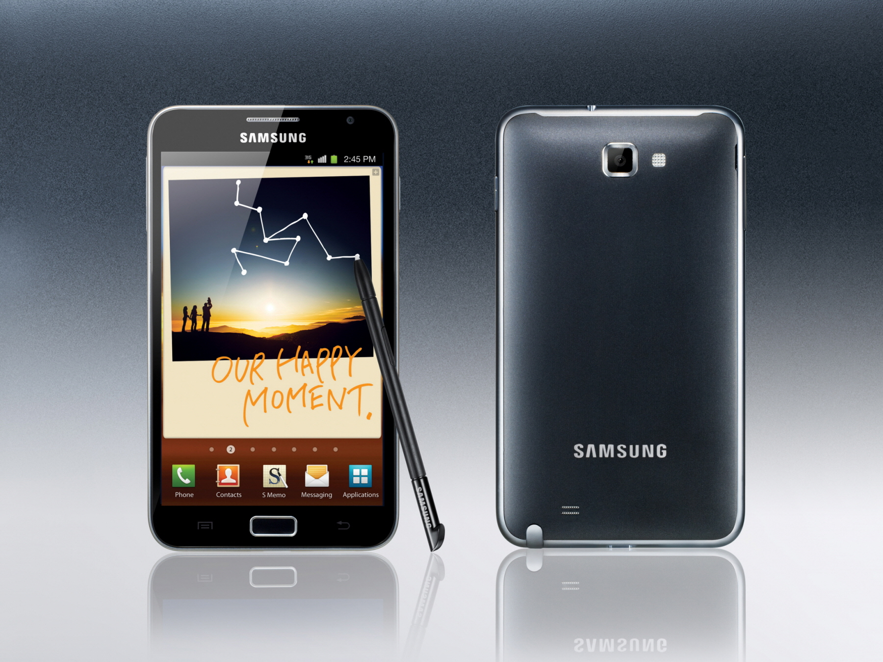 Samsung Galaxy Note Launching In The Uk On November 17