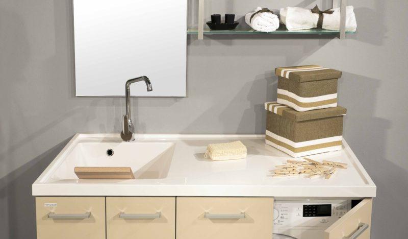 Lavatoi e Lavanderia Euroedil offre Lavatoi in acrilico o