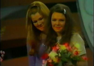 Dana con Lenny Kuhr