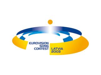 Logo ESC 2003 - A magical rendez-vous