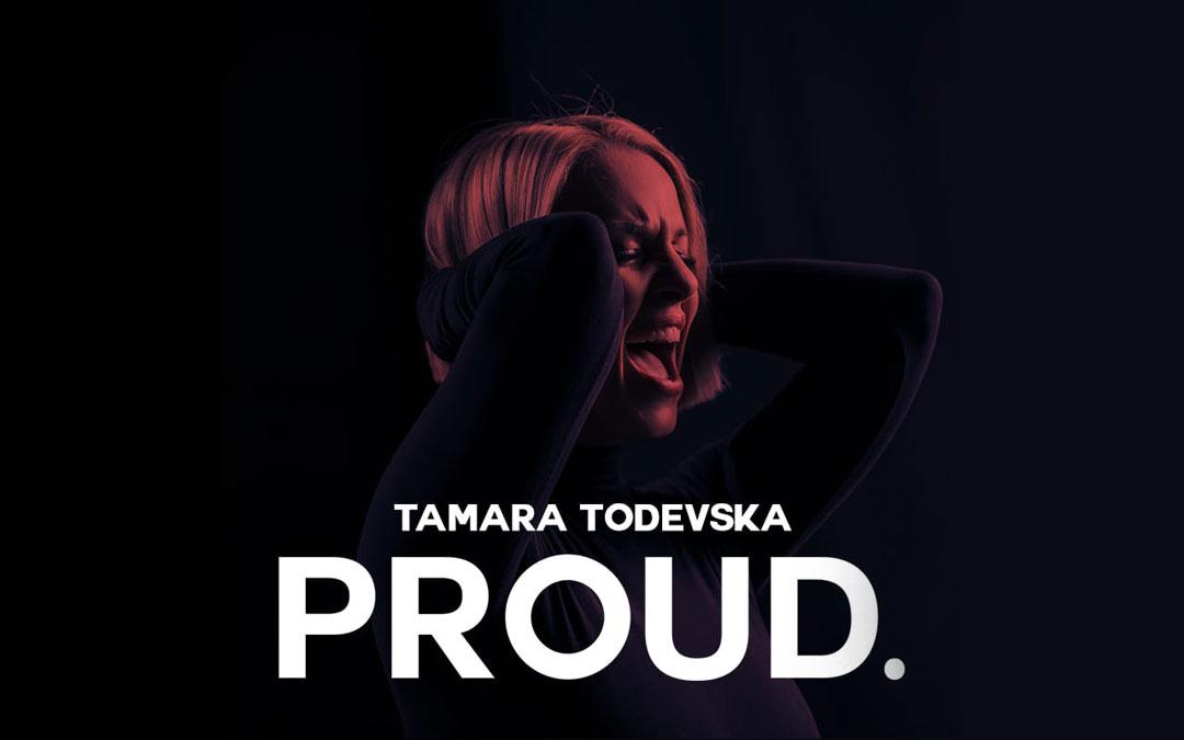 """Eurovision 2019 – Presentato """"Proud"""" il brano macedone di Tamara Todevska"""