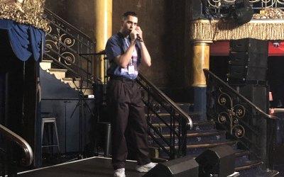 L'esibizione di Mahmood al London Eurovision Party