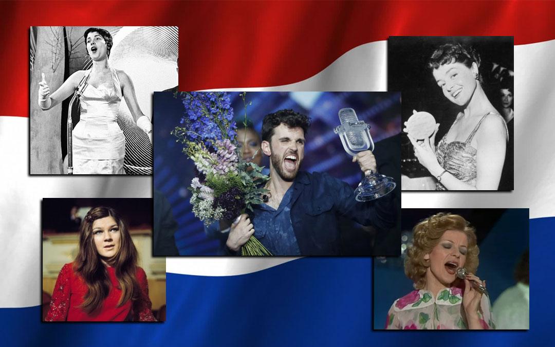 We are the winners of Eurovision: le cinque vittorie dei Paesi Bassi