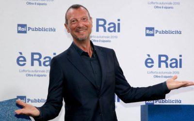 Sanremo 2020 – Amadeus direttore artistico e presentatore del Festival