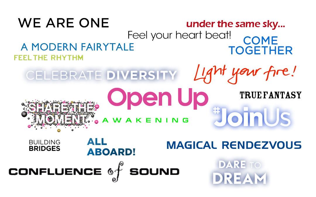 "Da ""A Modern Fairytale"" a ""Open up"": 18 anni di slogan eurovisivi"
