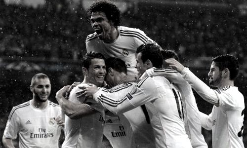 Real Madrid are undefeated in their last 10 matches in UEFA Champions League.