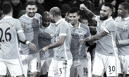 Manchester City F.C. have won with at least a 2 goal margin in their last 3 away games in Premier League.