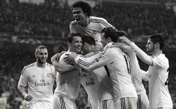 Real Madrid have scored in each of their last 17 away games.