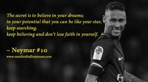 Football Quotes 1 - Neymar