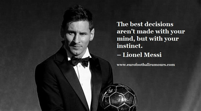Football Quotes 19 Lionel Messi